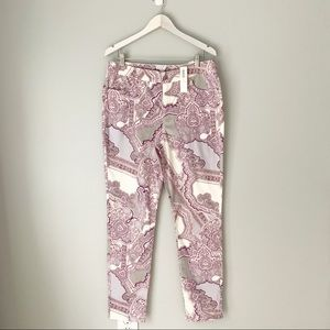 NWT Chico's paisley print jeggings